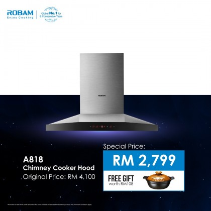 ROBAM CROSSOVER SERIES -A818