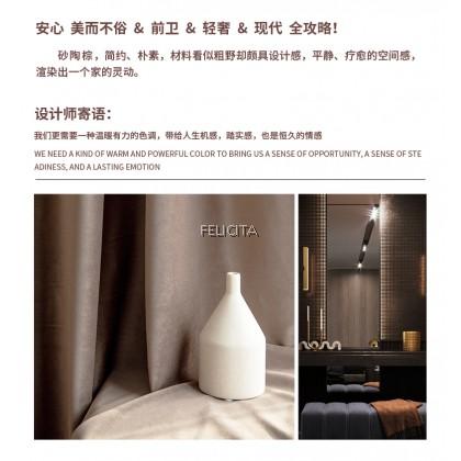 VELVET Curtain Modern Minimalist  -  Cloth Luxury Semi Sunblock